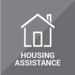 Housing Button Grey